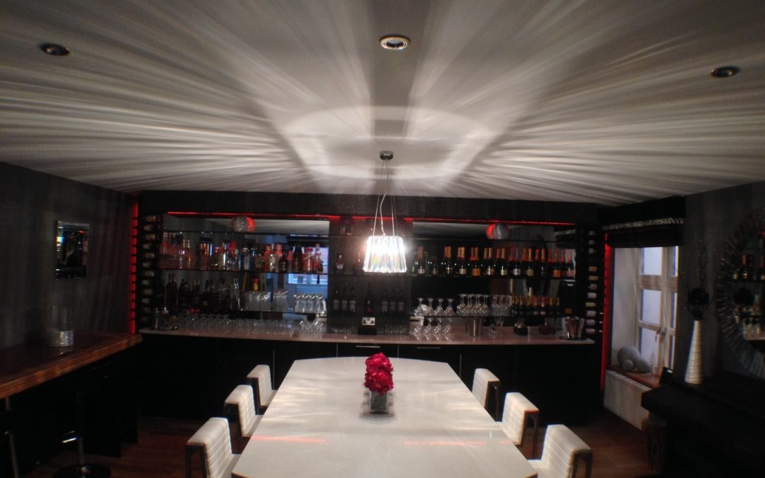 Bar Project Completed for Aviva Designs